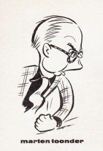 Zelfportret Marten Toonder