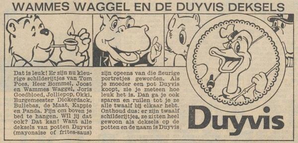 Duyvis reclame 27 juni 1963