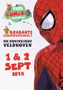Flyer Stripspektakel 2018