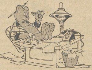Heer Bommel in de Volkskrant 8 maart 1947