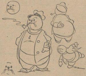 De Courant Het Nieuws van de Dag illustratie 2 okt 1941