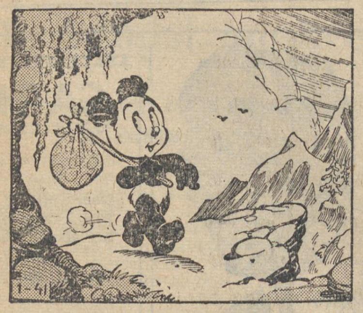 Nieuwsgier Panda 5 april 1956