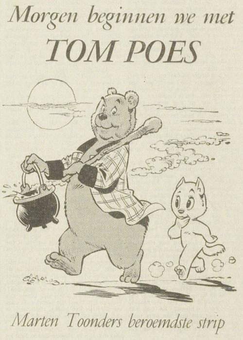 De Vallei aankondiging Tom Poes 8 jan 1970
