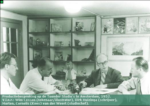 Productiebespreking Toonderstudio's 1952.