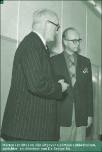 Marten met Geert Lubberhuizen.