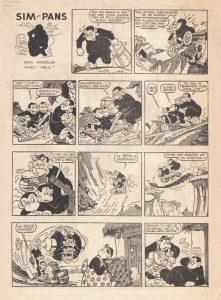 Pum Pum Sim en Pans 28 jan 1954