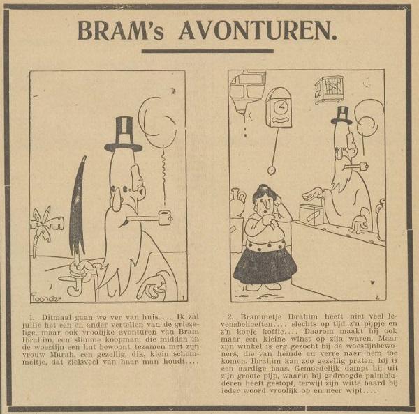 Bram's avonturen 9 juni 1934